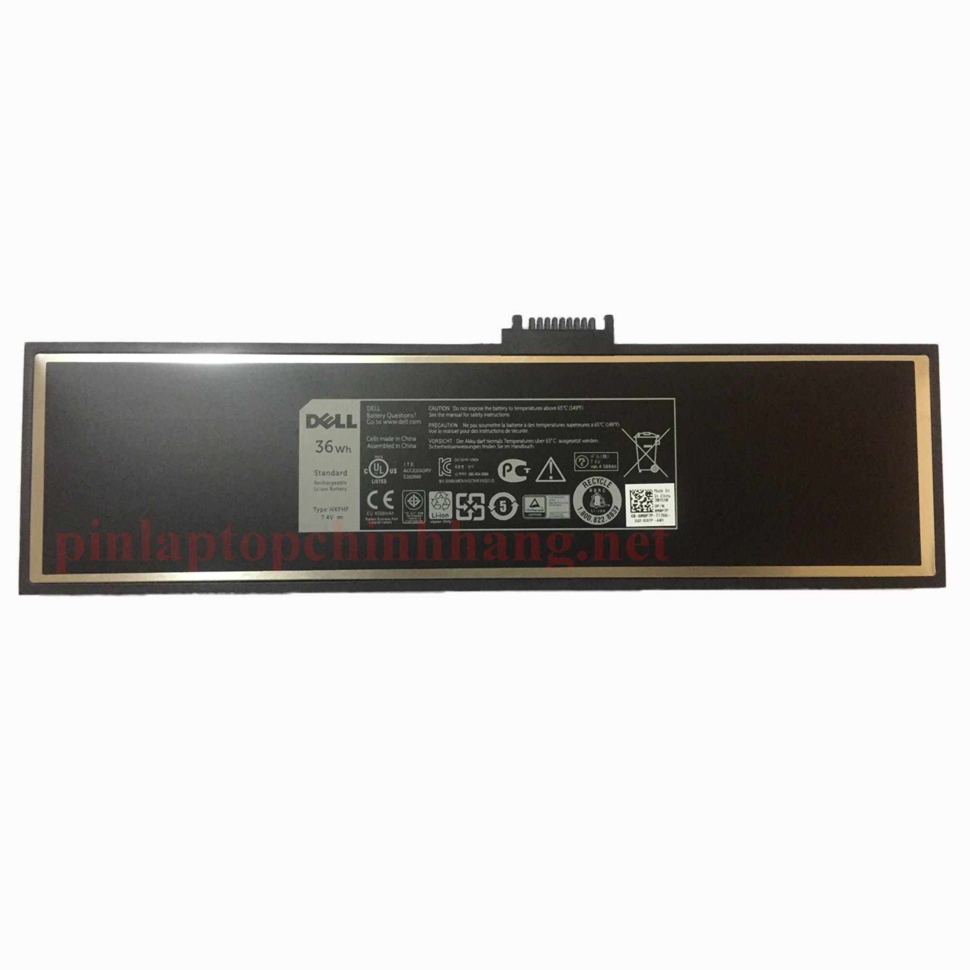Battery (Pin) Dell Venue Pro 11 7130 7139 HXFHF  VJF0X VT26R XNY66 (7.4V 36Wh) Chính Hãng