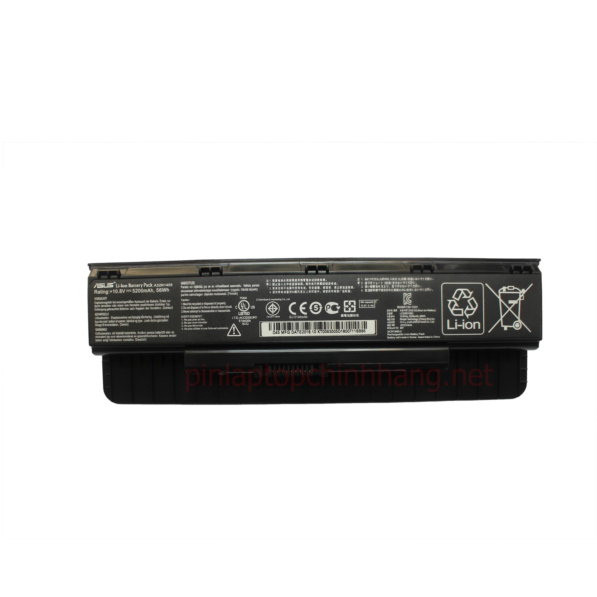 Battery Pin Laptop Chính hãng ASUS G551 G551J G551JK G551JM ROG G771 G771J G771JK A32N1405
