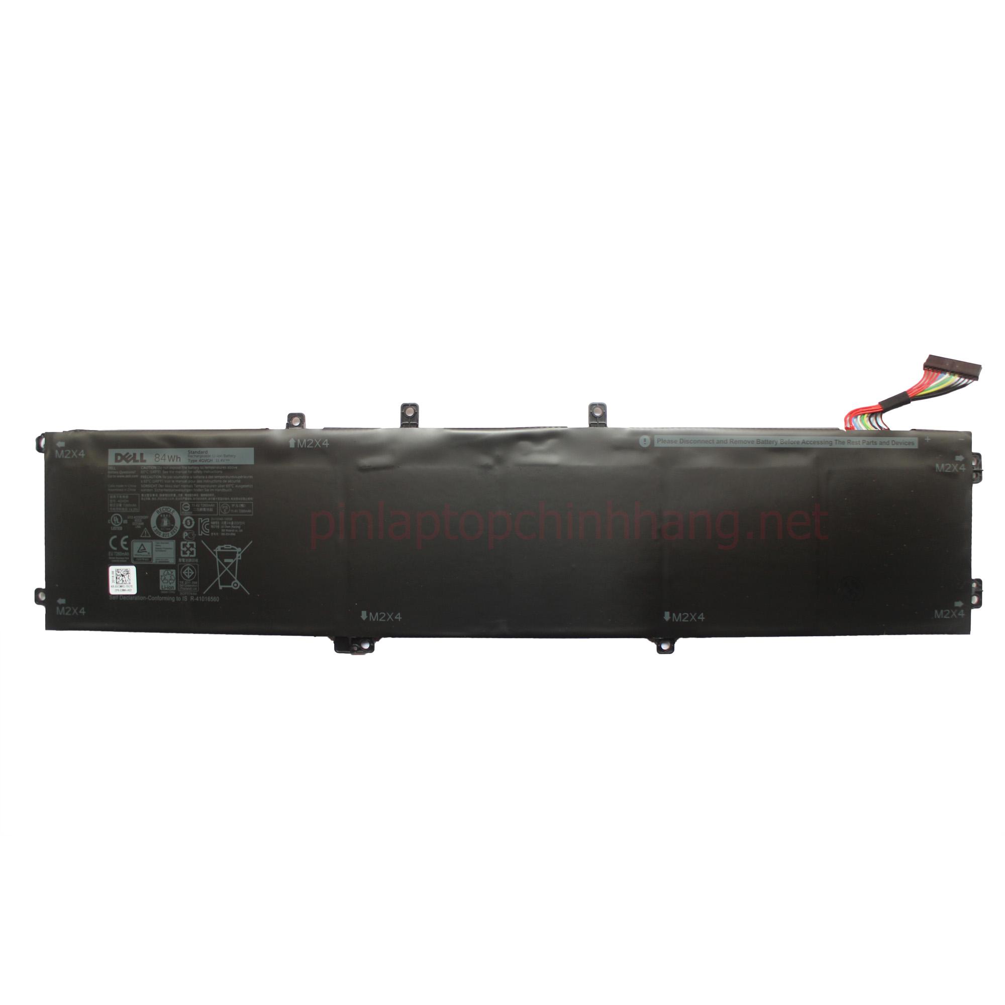 Battery / Pin Laptop Chính hãng Dell XPS 15 9550 4GVGH 84Wh