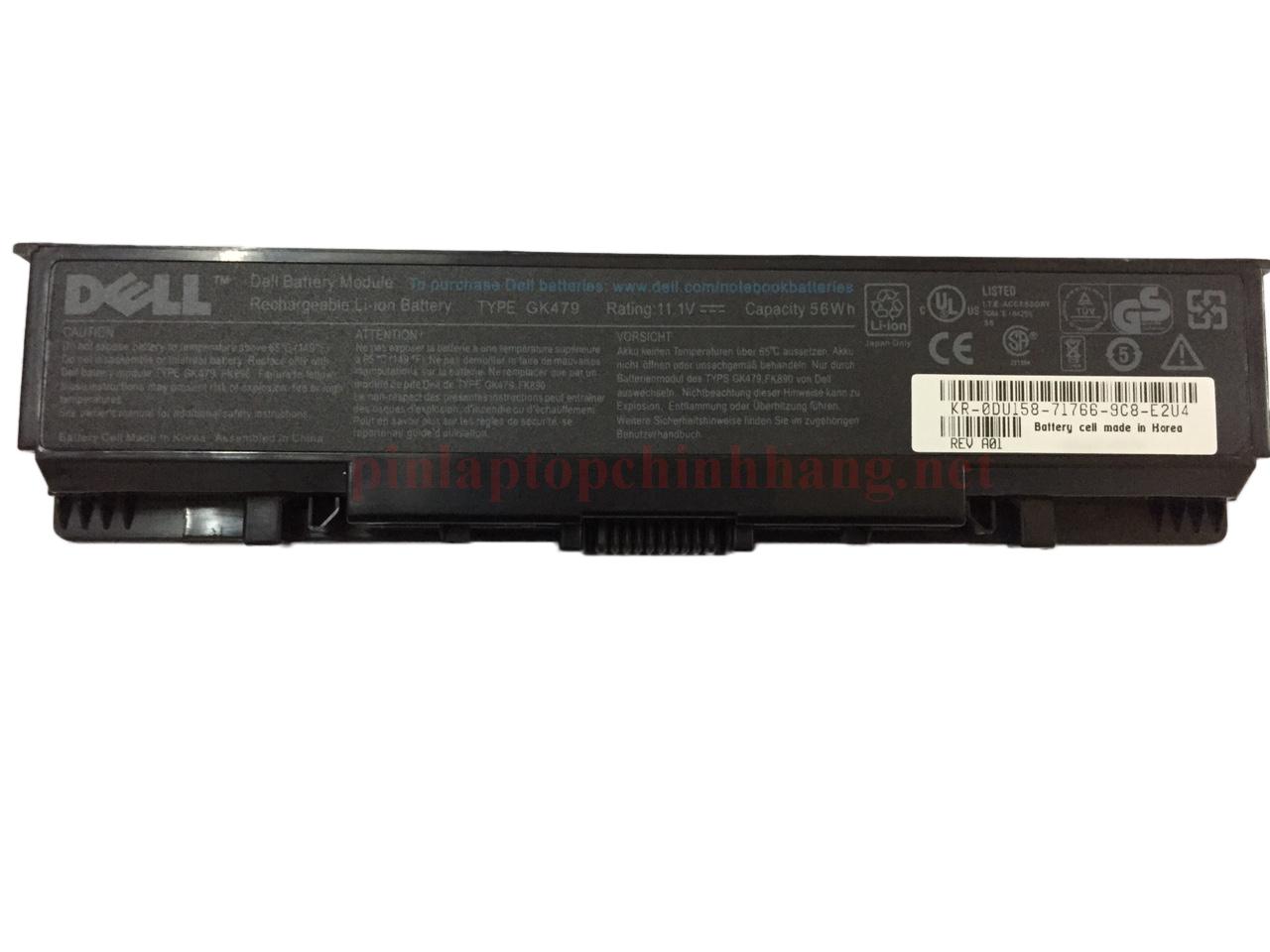 Pin laptop chính hãng Dell Inspiron 1520 1521 1720 1721 1500 1700