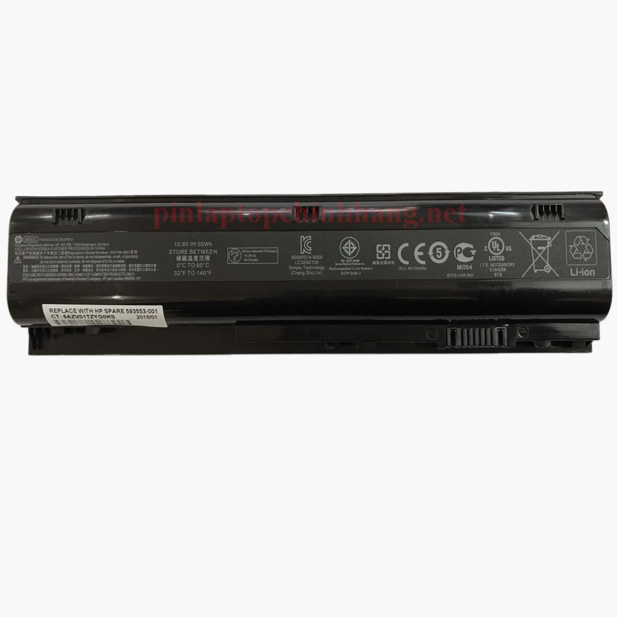 Battery (Pin) Laptop Chính hãng HP ProBook 4230s HSTNN-IB2U HSTNN-I96C 633803-001 633801-001 JN06XL
