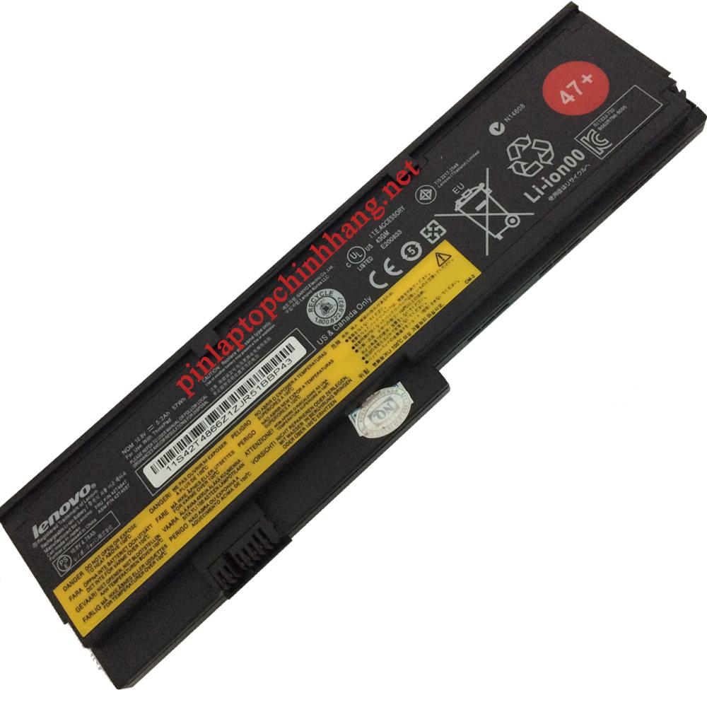 Pin laptop chính hãng Lenovo ThinkPad X200 X200s X201 X201s - 6 cell