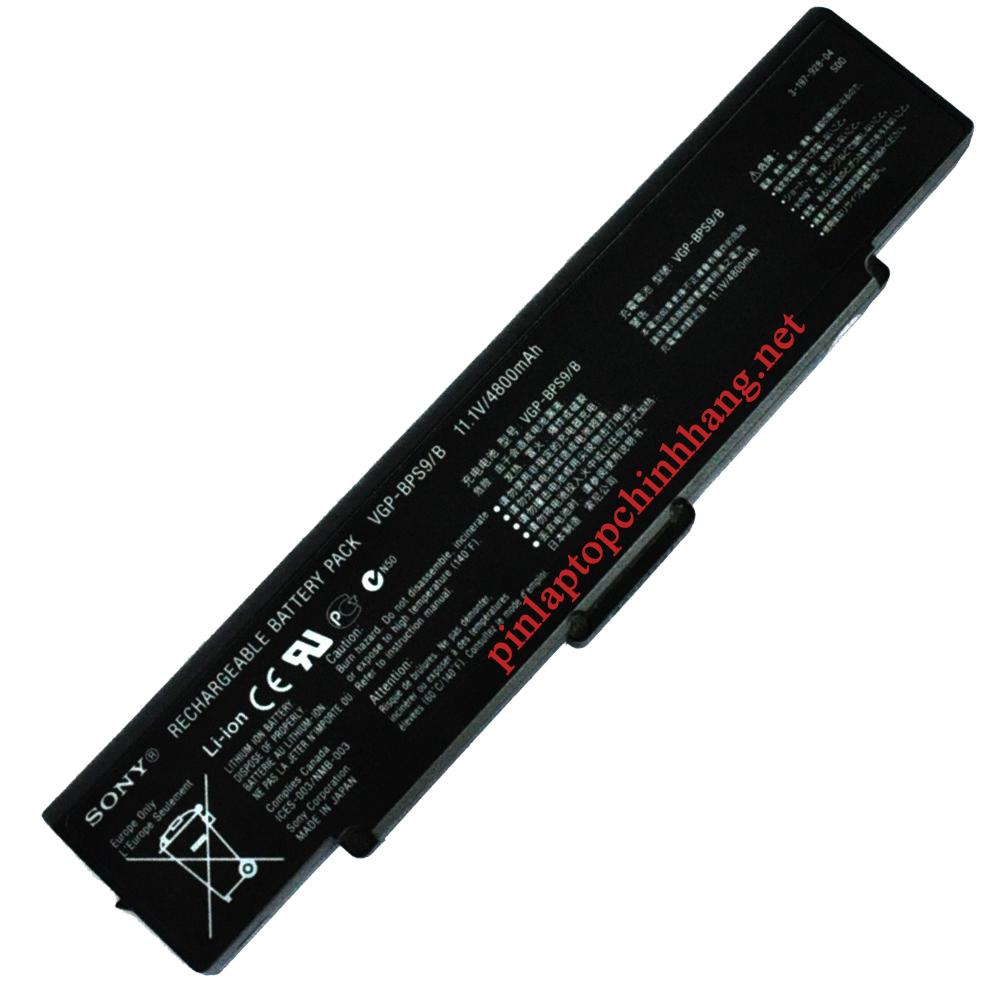 Pin laptop chính hãng SONY-BPS9/ BPS10 PCG-5L2L