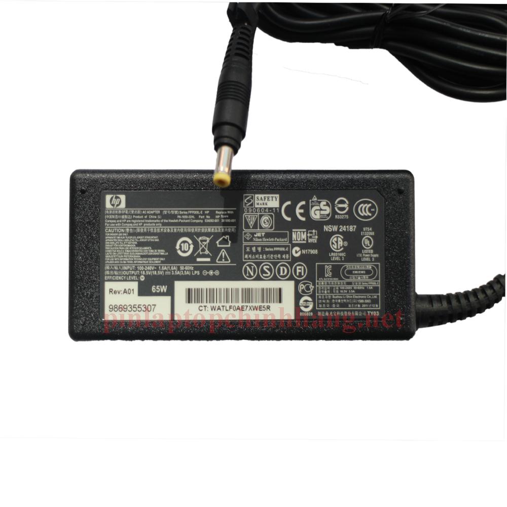 Sạc Laptop Chính Hãng HP ENVY 4-1102TU